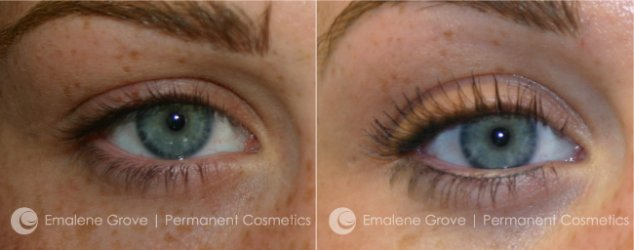 Permanent Cosmetics by Emalene Grove - Eyeliner Treatment