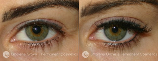 Permanent Cosmetics by Emalene Grove - Eyeliner Refresh Treatment